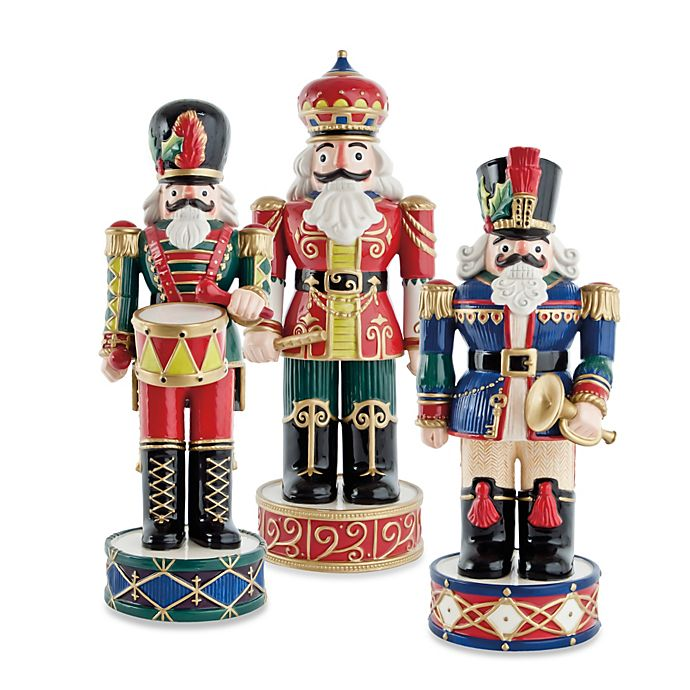 Alternate image 1 for Fitz and Floyd® Holiday Nutcracker