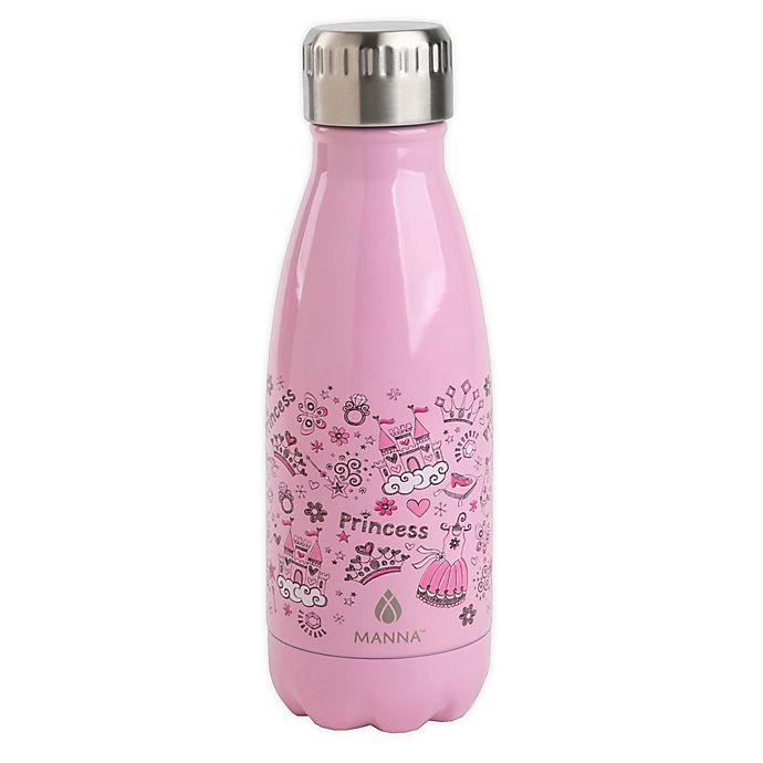 Alternate image 1 for Manna™ Vogue Princess 9 oz. Stainless Steel Water Bottle