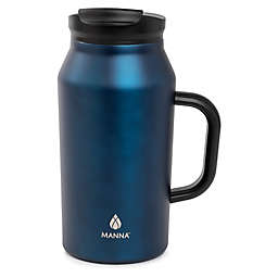 Manna Basin 40 oz. Travel Mug in Blue