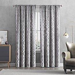 Claremont Rod Pocket/Back Tab Window Curtain Panel