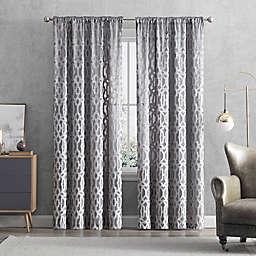 Claremont Rod Pocket/Back Tab Window Curtain Panel (Single)