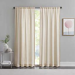 Matteo Rod Pocket Sheer Window Curtain Panel (Single)