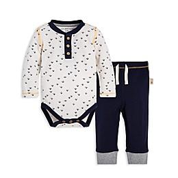 Burt's Bees Baby® 2-Piece Tweet Feet Organic Cotton Bodysuit and Pant Set