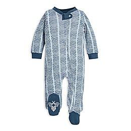 Burt's Bees Baby® Watercolor Chevron Organic Cotton Sleep and Play in Blue