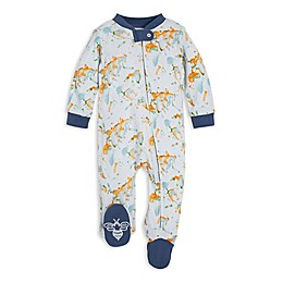 Burt's Bees Baby® Organic Cotton World Explorer Footie in Blue