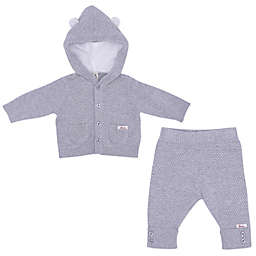 ED Ellen DeGeneres 2-Piece Bear Sweater and Pant Set in Grey