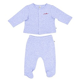 ED Ellen DeGeneres 2-Piece Star Sweater and Pant Set in Blue