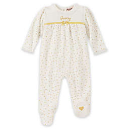 Juicy Couture® Foil Dot Coverall in White