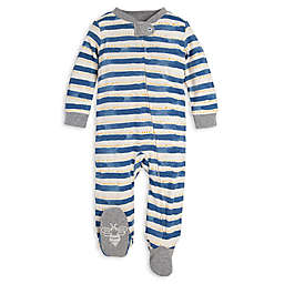 Burt's Bees Baby® Painted Stripe Organic Cotton Sleep and Play in Blue