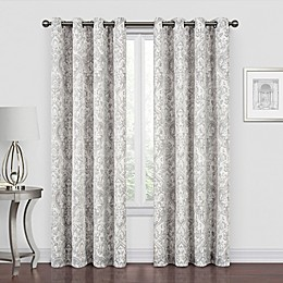 Piazza Grommet Room Darkening Window Curtain Panel