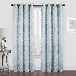 Piazza 84-Inch Grommet Room Darkening Window Curtain Panel in Spa (Single)