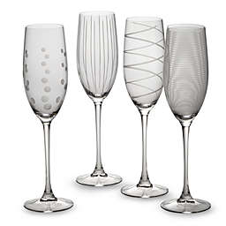 Mikasa® Cheers 8 oz. Toasting Flutes (Set of 4)