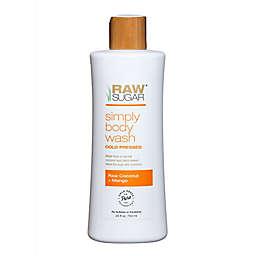 Raw Sugar Simply Body Wash in Raw Coconut and Mango