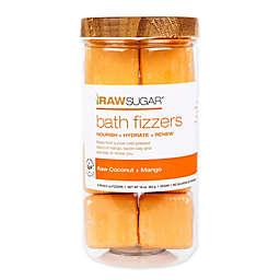 Raw Sugar Bath Fizzers in Raw Coconut and Mango