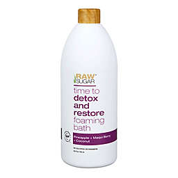 Raw Sugar Time to Detox and Restore Foaming Bath in Pineapple, Maqui Berry and Coconut