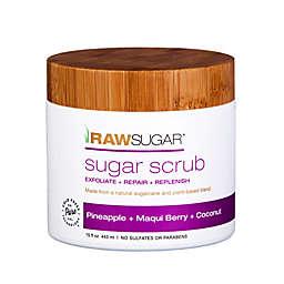 Raw Sugar Sugar Scrub in Pineapple, Maqui Berry, and Coconut