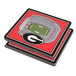 University of Georgia 3D StadiumView Coaster