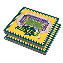 North Dakota State University 3D StadiumView Coaster