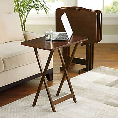Hamilton 5-Piece Snack Tray Table Set