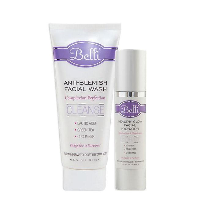 Alternate image 1 for Belli® Healthy Glow Facial Hydrator and Anti-Blemish Facial Wash Collection