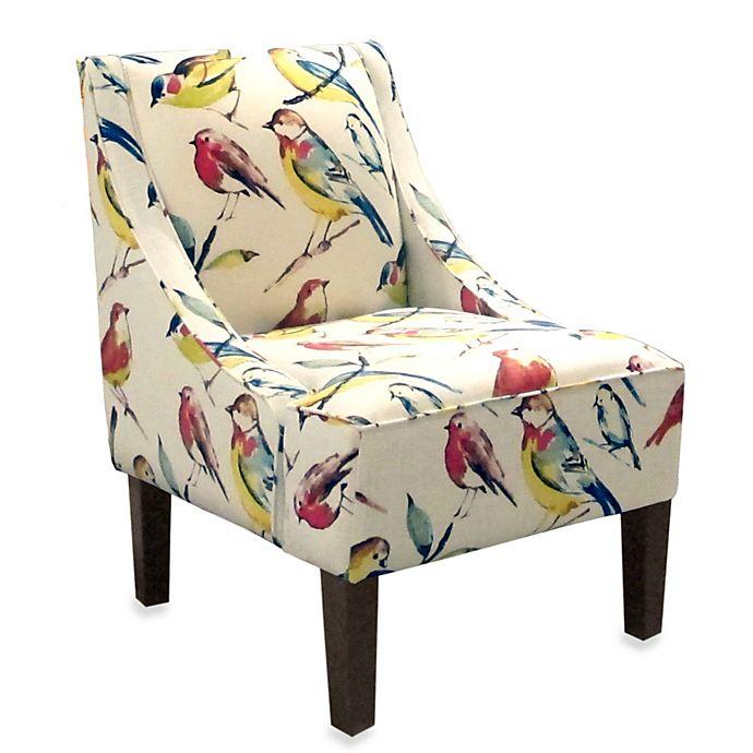 Skyline Furniture Swoop Arm Chair In, Skyline Furniture Chair