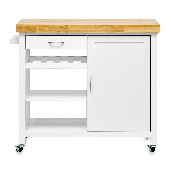 Alternate image 1 for Denver Modern Kitchen Cart