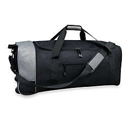 1c31aa18c1dc Travelers Club® 32-Inch Compactable Rolling Duffle with Side Pockets