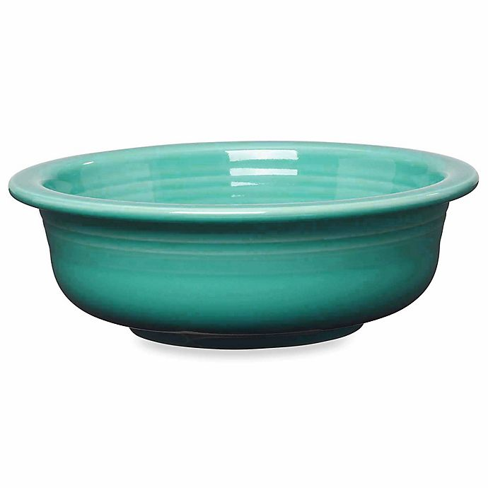 Alternate image 1 for Fiesta® 1 qt. Serving Bowl in Turquoise