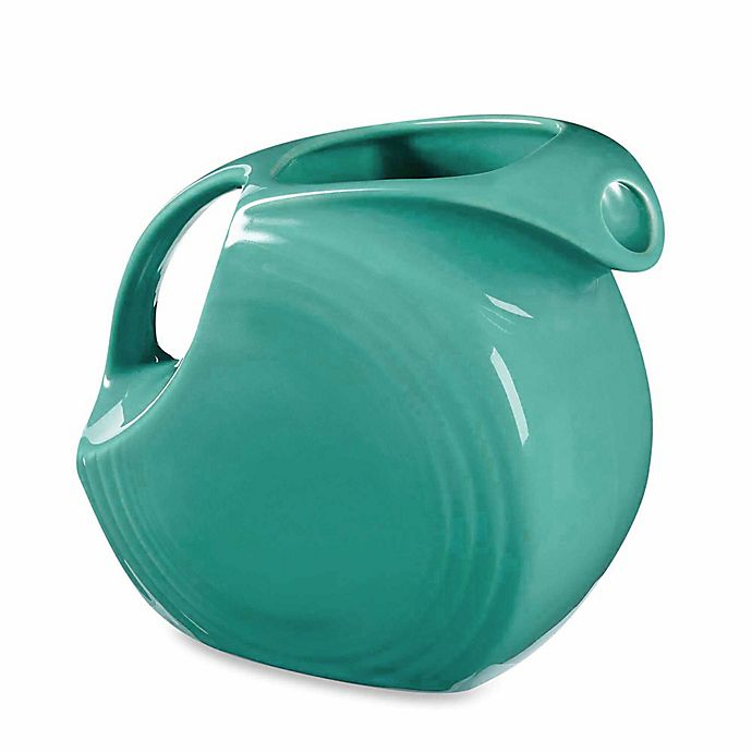 Alternate image 1 for Fiesta® Large Pitcher in Turquoise
