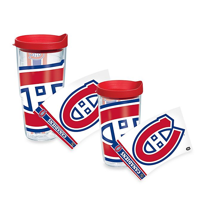 Alternate image 1 for Tervis® NHL Montreal Canadians Colossal Wrap Tumbler