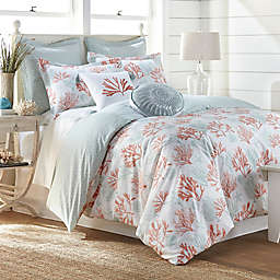 Coastal Living Cape Town 3-Piece Reversible Duvet Cover Set