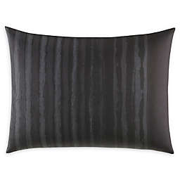 Vera Wang® Shadow Stripe Standard Sham in Charcoal