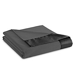 Micro Flannel® All Seasons Year Round Blanket in Charcoal