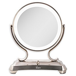 Zadro® Surround Light™ Glamour Vanity Mirror in Satin Nickel