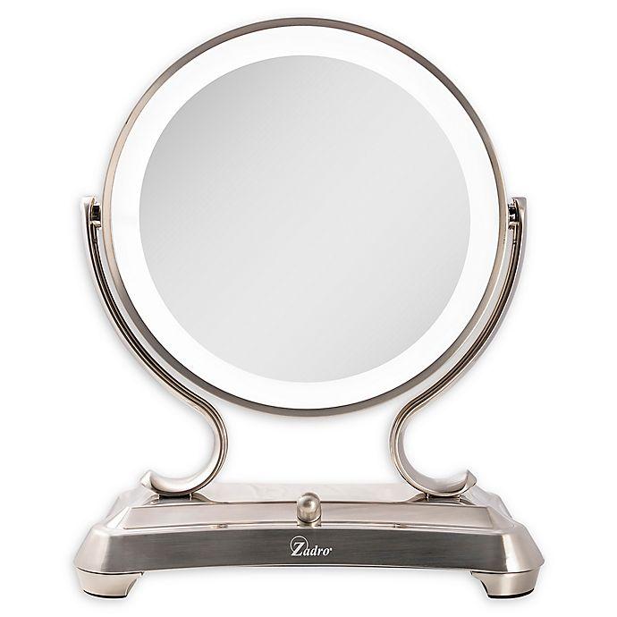 Zadro 174 Surround Light Glamour Vanity Mirror In Satin