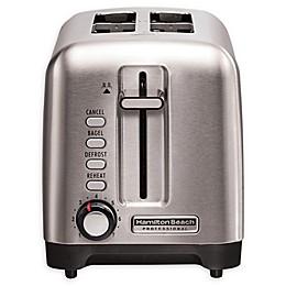 Hamilton Beach® Professional Stainless Steel 2-Slice Toaster
