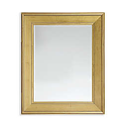Martha Stewart Westchester 28.5-Inch x 34.5-Inch Rectangle Accent Mirror in Antique Gold