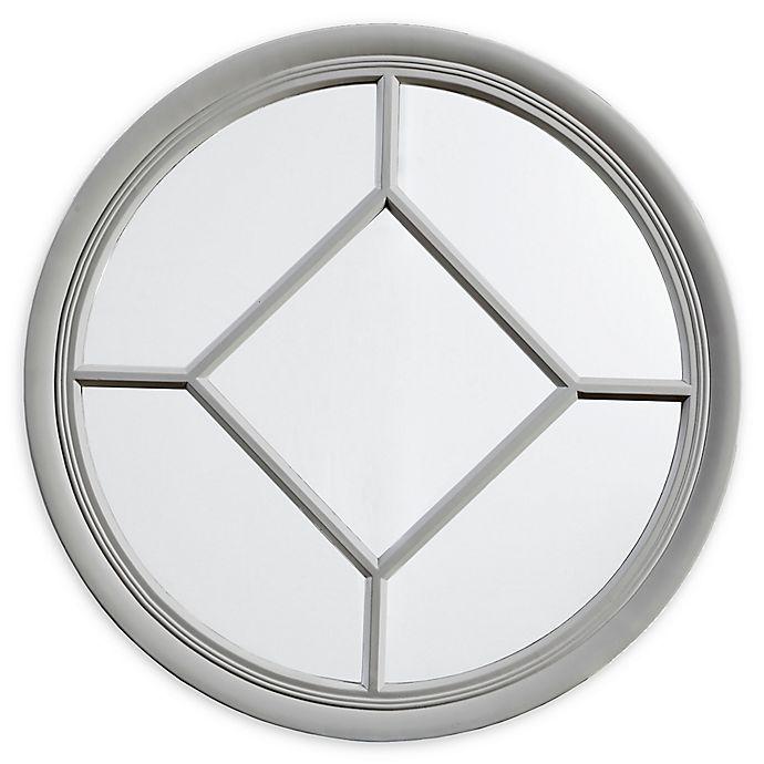 Alternate image 1 for Martha Stewart Homestead 27.5-Inch Round Accent Mirror