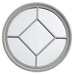 Martha Stewart Homestead 27.5-Inch Round Accent Mirror
