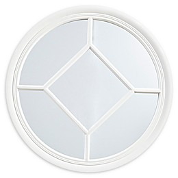 Martha Stewart Homestead 27.5-Inch Round Accent Mirror