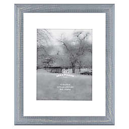 Bee & Willow™ Home 11-Inch x 14-Inch Matted Wood Picture Frame in Blue