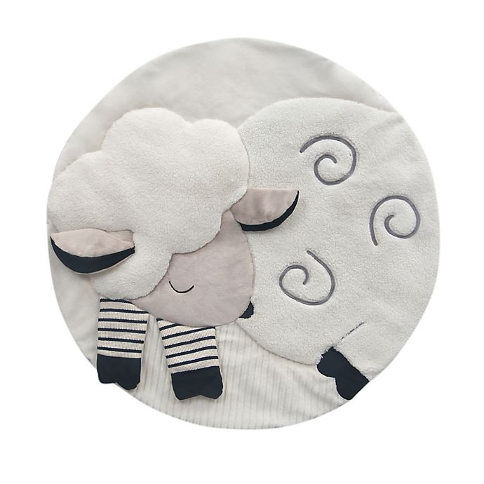 Alternate image 1 for Lambs & Ivy® Sheep Play Mat in White