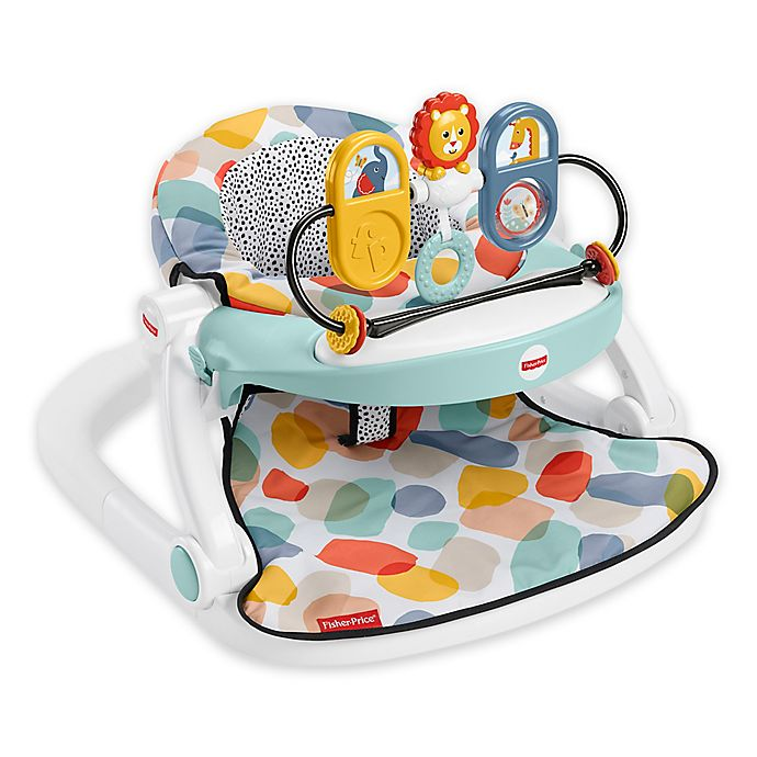 Alternate image 1 for Fisher-Price® Sit-Me-Up Deluxe Floor Seat in Beach Glass