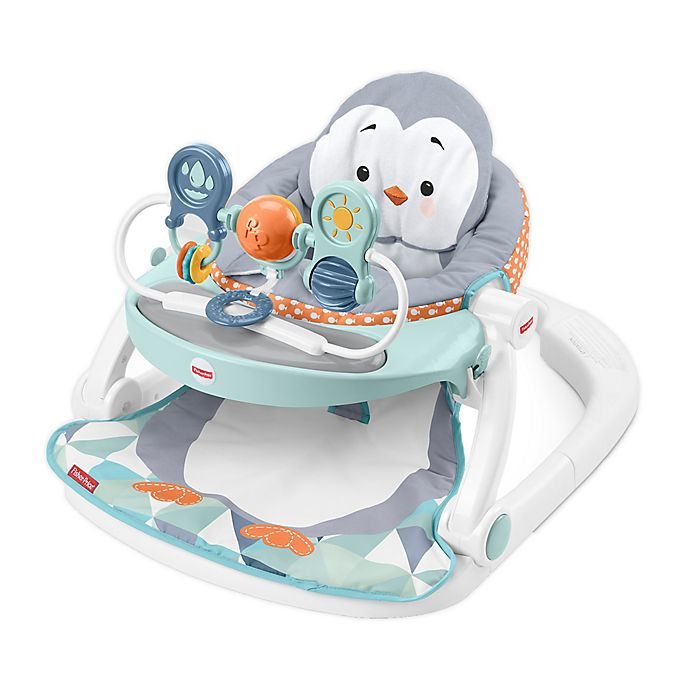 Alternate image 1 for Fisher-Price® Sit-Me-Up Penguin Floor Seat