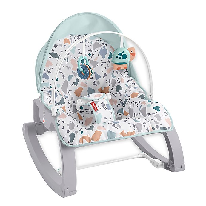 Alternate image 1 for Fisher-Price® Infant-to-Toddler Rocker in Blue Pacific Pebble