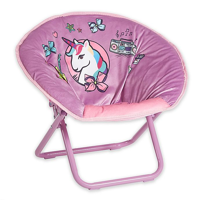 Nickelodeon™ Jojo Siwa™ Mini Folding Saucer Chair | buybuy BABY