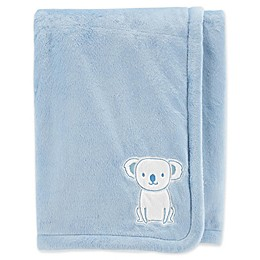 carter's® Embroidered Velboa Plush Blanket