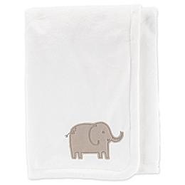 carter's® Embroidered Velboa Plush Blanket