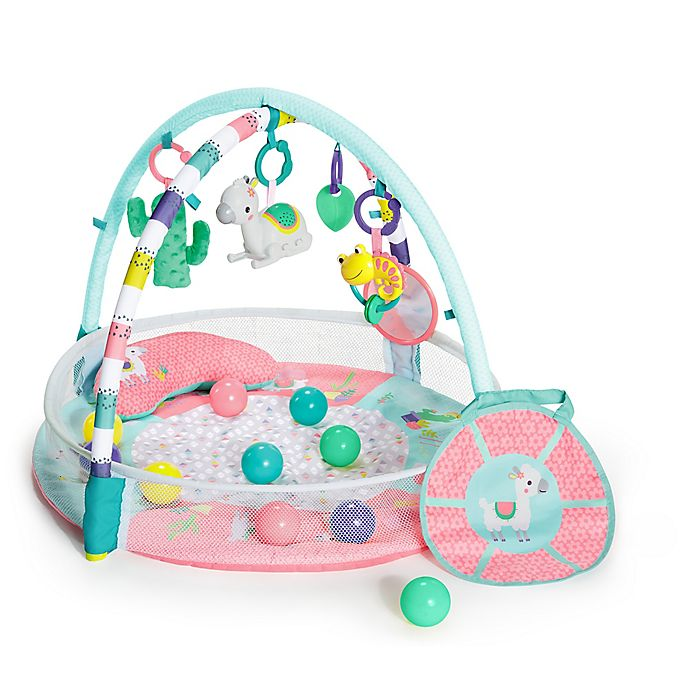 Alternate image 1 for Bright Starts™4-in-1 Rounds of Fun™ Activity Gym & Ball Pit