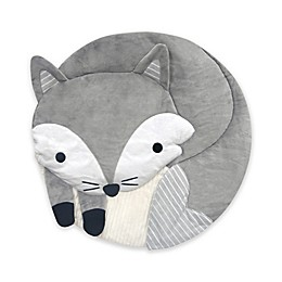 Lambs & Ivy® Fox Play Mat in Grey/White